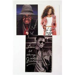 Jackson Family Signed Cards