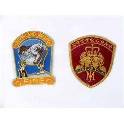 Michael Jackson Neverland Ranch Patches