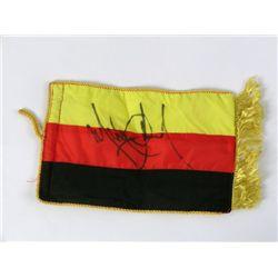 Michael Jackson German History Tour Signed Flag