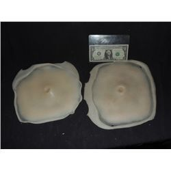 GUN SHOT IMPALED BELLY BUTTON FLESH SILICONE APPLIANCE LOT OF 2