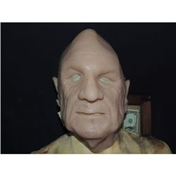 SILICONE OLD MAN FACE MASK HALF EAR