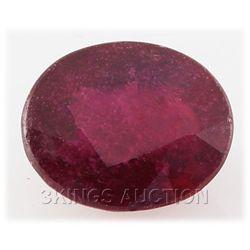 6.05ctw African Ruby Loose Gemstone