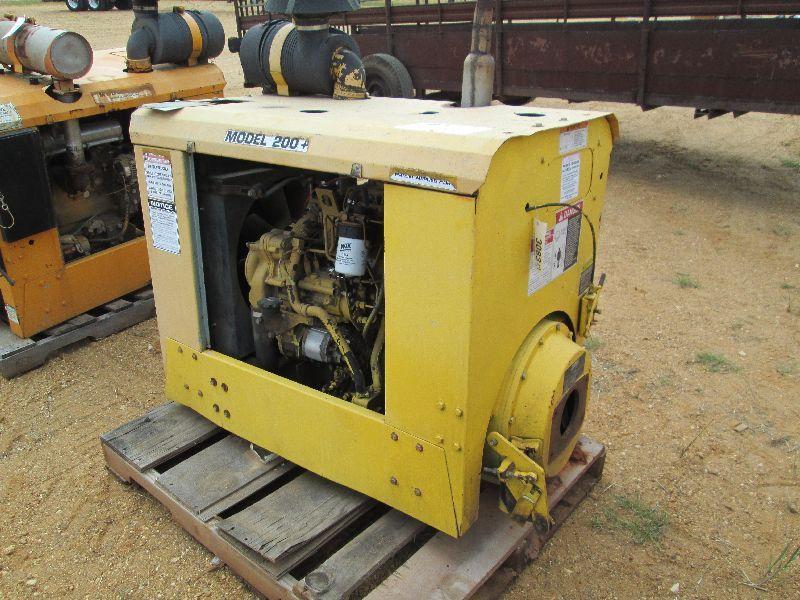 CAT DIESEL ENGINE, COOLING SYSTEM, SKID MTD
