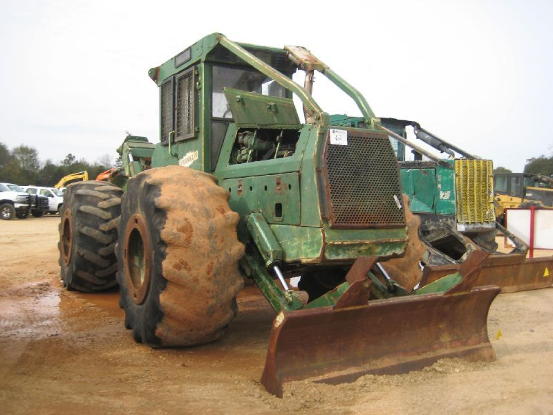 FRANKLIN 170 GRAPPLE SKIDDER, S/N 17679, SINGLE ARCH GRAPPLE, WINCH, ECAB  W/AIR, 30 5-32 TIRES