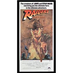 Raiders of the Lost Ark - Original Australian Daybill Poster