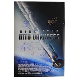 Star Trek Into Darkness - Cast Autographed Poster