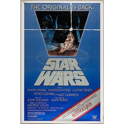 "Star Wars: Episode IV - A New Hope - Re-release 1982 (40"" x 60"") Poster"