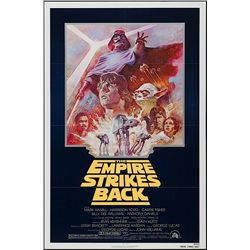 Star Wars: Episode V - The Empire Strikes Back - Re-release 1981 One-Sheet Poster