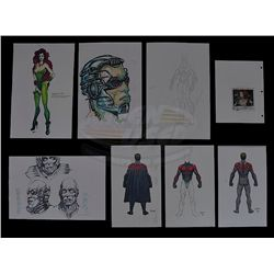 Batman and Robin - Costume Design Prints and Set Photo