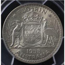 1958 Florin PCGS MS64