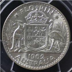 1962 Florin PCGS MS64