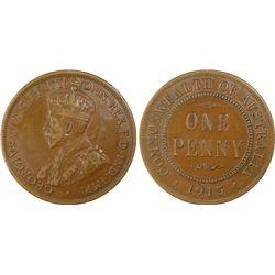 1915 Penny PCGS XF45