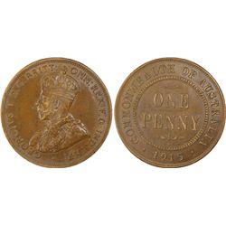 1915H Penny PCGS AU55