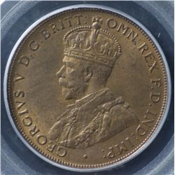 1919 Dot Below Penny PCGS MS64 RB