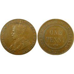 1920 Penny Plain, PCGS XF 40
