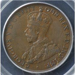 1925 Penny PCGS XF45