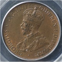 1932 Penny PCGS MS63 RB