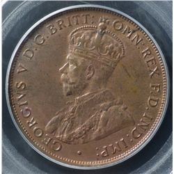 1935 Penny PCGS MS63 RB