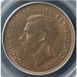 1941 Penny PCGS MS63 RB