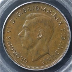 1942P Penny PCGS MS63 Brown