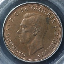 1943I Penny PCGS MS64 RB