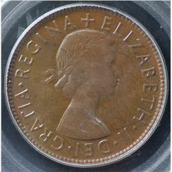 1953P Penny PCGS MS63 Brown