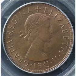 1953 perth Penny PCGS MS64 RB