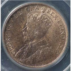 Canada 1c 1917 MS64 RB
