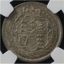 Great Britain 1816 Shilling NGC MS65