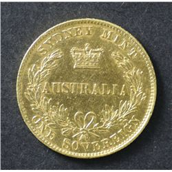 Australia 1865 Sydney Mint Sovereign