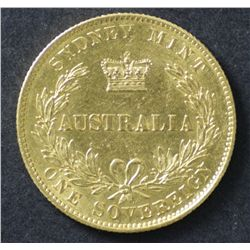 Australia 1866 Sydney Mint Sovereign