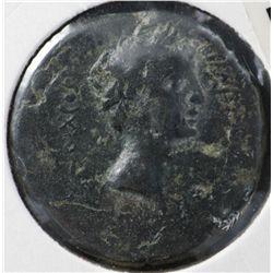 Augustus AE25, 27 BC , Fine