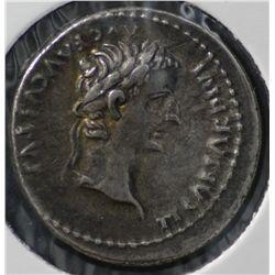 Ancient Rome, Tiberius  Denarius, Seaby 1763