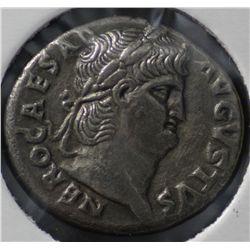 Ancient Rome, Nero Denarius 54 to 68 ACE
