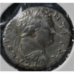 Ancient Rome, Titus Denarius 79-81 AD