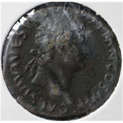 Ancient Rome Domitian AS, 81-96 AD