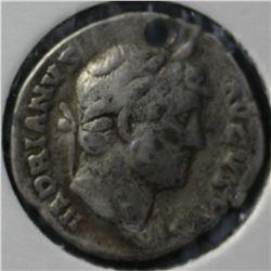 Ancient Rome , Hadrian Denarius