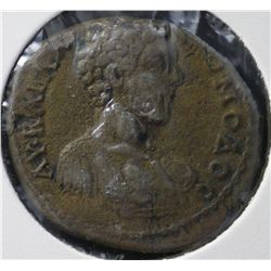 Ancient Rome Commodus AE from Markianopolis 161-180 AD