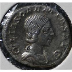 Ancient Rome Julia Soaemias, Denarius