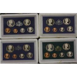 1981, 1982, 1983 and 1984 Proof Sets