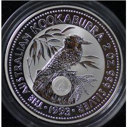 1993 2 Oz Kookaburra Privy, Kangaroo