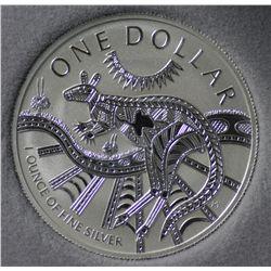 2001 $1 Silver
