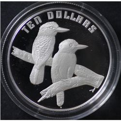 1989 $10 Bird Series Kookaburra