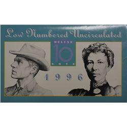 Australia 1996 $10 Note Set