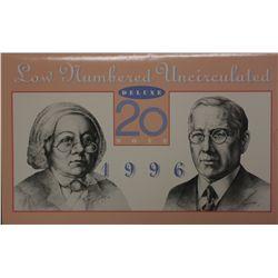 Australia 1996 $20 Note Set