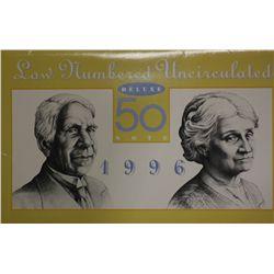 Australia 1996 $50 Note Set