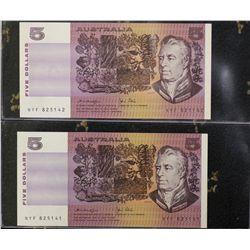 Australia $5 Paper Note