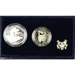 USA 1995 2 Coin Proof Set