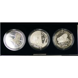 USA 1994 Vietnam Veterans Commemorative Silver Dollars
