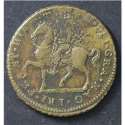 Irish Gun Money Crown 1690